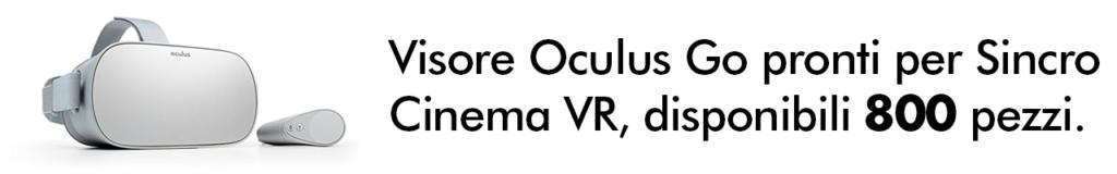 Noleggia Kit Oculus Go visore all-in-one semplici, duttili ed economici. Noleggio Computer per Aziende, Noleggio PC MAC. Noleggio Notebook, Noleggia computer ad alte prestazioni grafiche, Msi, Omen, HP, IMac, Microsoft Surface Studio 2, Ipad Pro, affitta workstation per eventi aziendali e fiere.