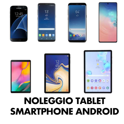 noleggio tablet e smartphone breve medio termine a Roma copia