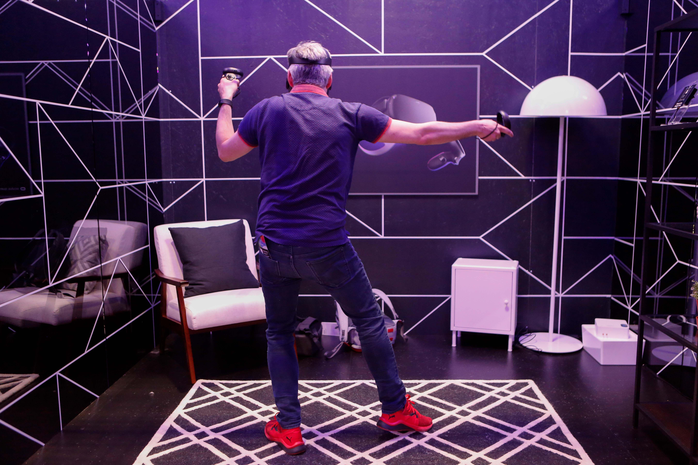 com'è vivere un'esperienza di realtà virtuale
