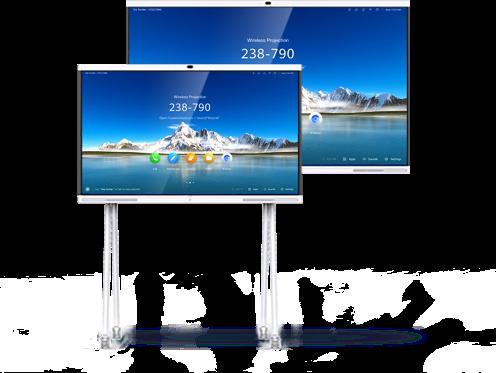 """monitor lavagna IdeaHub LIM Date alla vostra azienda un'immagine smart, lavora smart con l'HUAWEI IdeaHub. L'IdeaHub di HUAWEIè LO strumento d'ufficio: Con uno schermo fino a 86"""" di design elegante con microfono integrato, altoparlante e telecamera in qualità 4K ognivideoconferenzasarà un successo. ComeInteractive Whiteboardconsente una facile collaborazione nelle riunioni grazie al riconoscimento intelligente della scrittura, mentre ilWireless Sharingpermette di connettere i vostri collaboratori e partner indipendentemente dal luogo in cui si svolgono le riunioni. Le sale riunioni, gli uffici o l'area d'ingresso della vostra azienda si trasformano in stanze smart"""